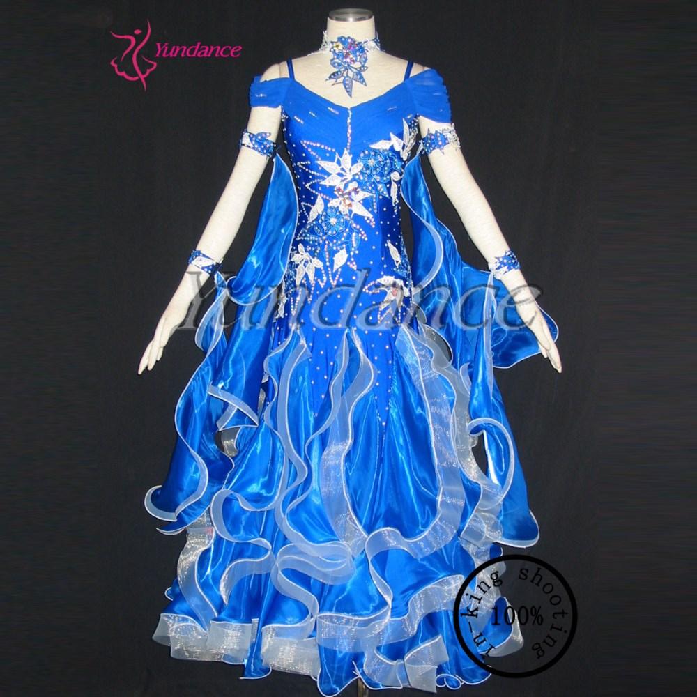New Modern Waltz Tango Ballroom Prom Dresses B-09266