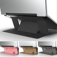 Подставка для ноутбука пластиковый стальной складной кронштейн для MacBook IPad notebook держатель компьютера охлаждающая Поддержка компьютера пор...