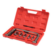 10Pcs Valve Spring Compressor Tool Kit For Car Motorcycle Vehicle Petrol Engines Top Quality