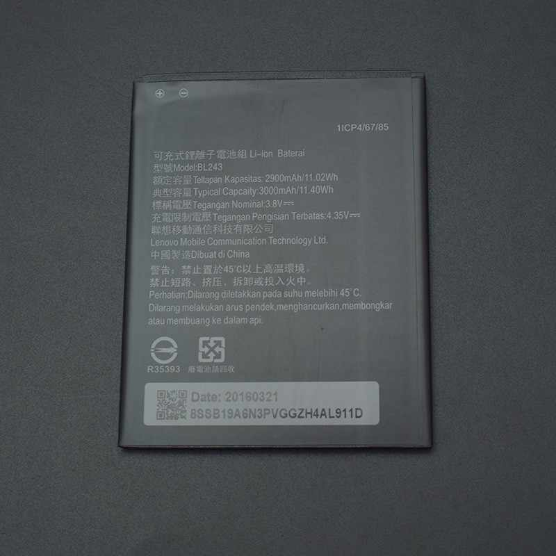 Detail Feedback Questions About For Lenovo K3 Battery 100 New Bl242