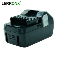 LERRONX 18V 4.0Ah Li ion rechargeable battery for Hitachi Power Tool BSL1830 BSL1840 DS18DSAL 330067 Replacement Lithium bateria
