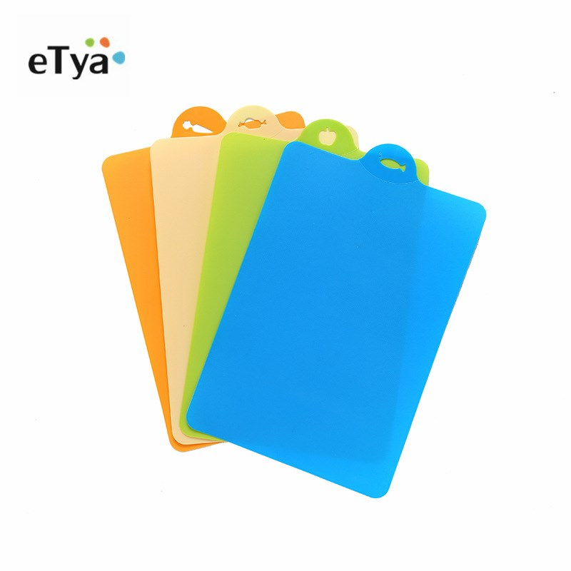 24x34.9cm Fruit Chopping Board Chopping Block Plastic Camping Outdoor Cutting Board Cooking Mat Antibiotic Kitchen Utensils