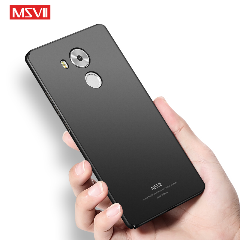 Huawei Mate 8 Case Cover Ultra thin Simple Hard PC Back Cover For Huawei Mate8 Cases Huawei Mate8 Protector Msvii Phone Coque in Fitted Cases from Cellphones Telecommunications