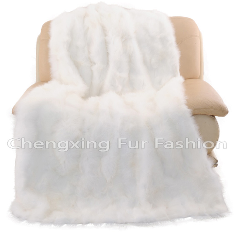 Smart Electronics Helpful Cx-d-125 2017 New Product Pachwork Real Fox Fur Blanket/fur Throw/fur Rug