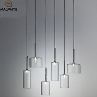 Modern Glass bottle creative pendant lights AXO SPILLRAY restaurant bar luminaire pendant lamp Industrial decor lighting fixture