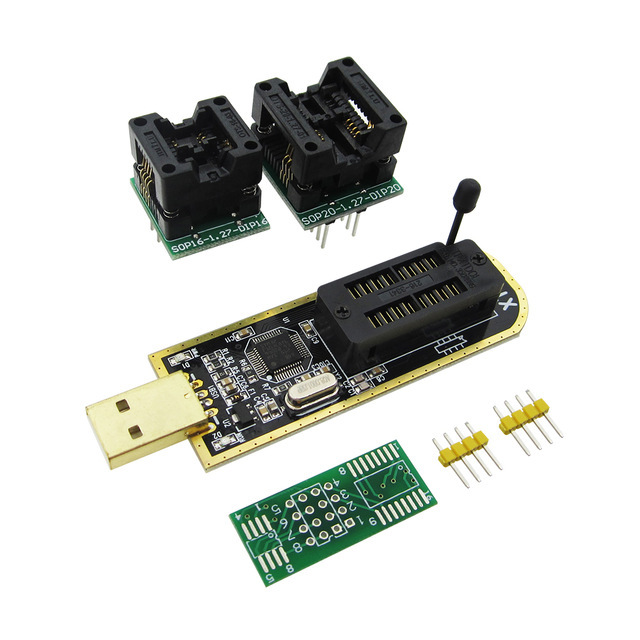 XTW100 mini programmer USB Motherboard Multifunctional BIOS SPI FLASH 24 25 Read / write Burner