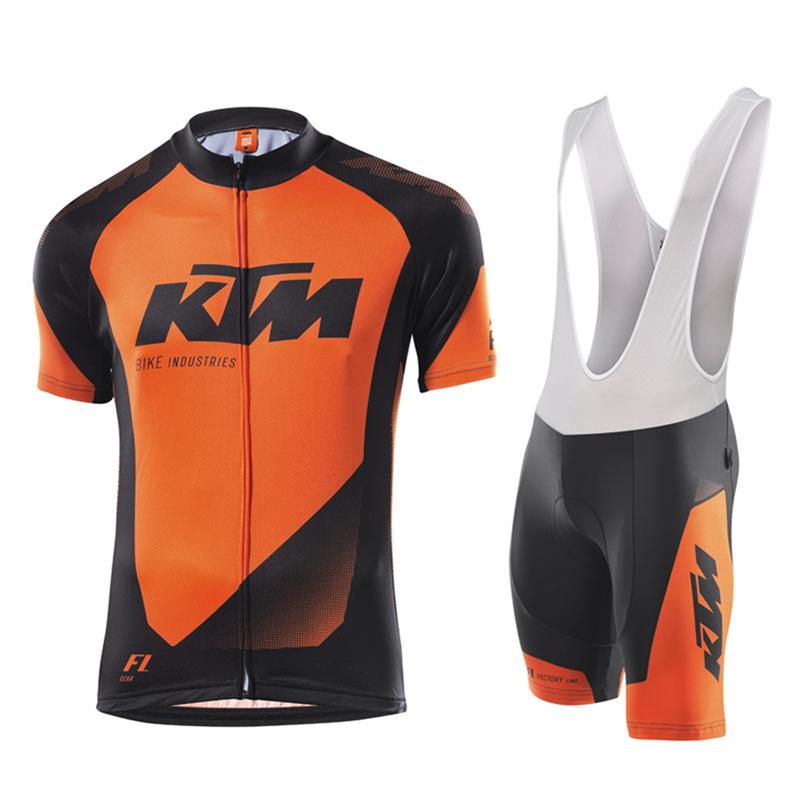 Prix pour KTM Ropa Ciclismo Équipe Équitation Vélo Jersey Vêtements de Cyclisme VTT Vélo Jersey Cuissard Set Équipement De Vélos Vêtements Bike Wear