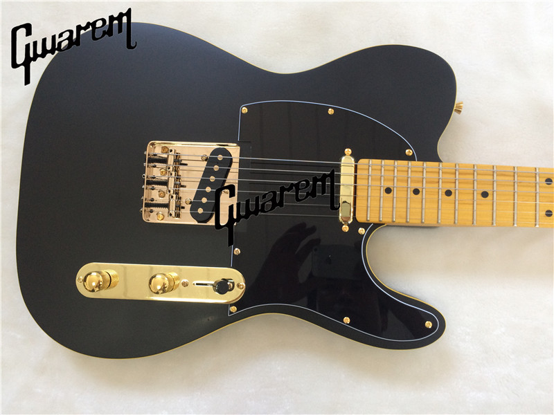 Electric guitar black color electric guitar/2018 new tl good sound guitar/guitar in china retail new big john 7 strings single wave electric guitar brick guitar with black hardware made in china free shipping f 2020
