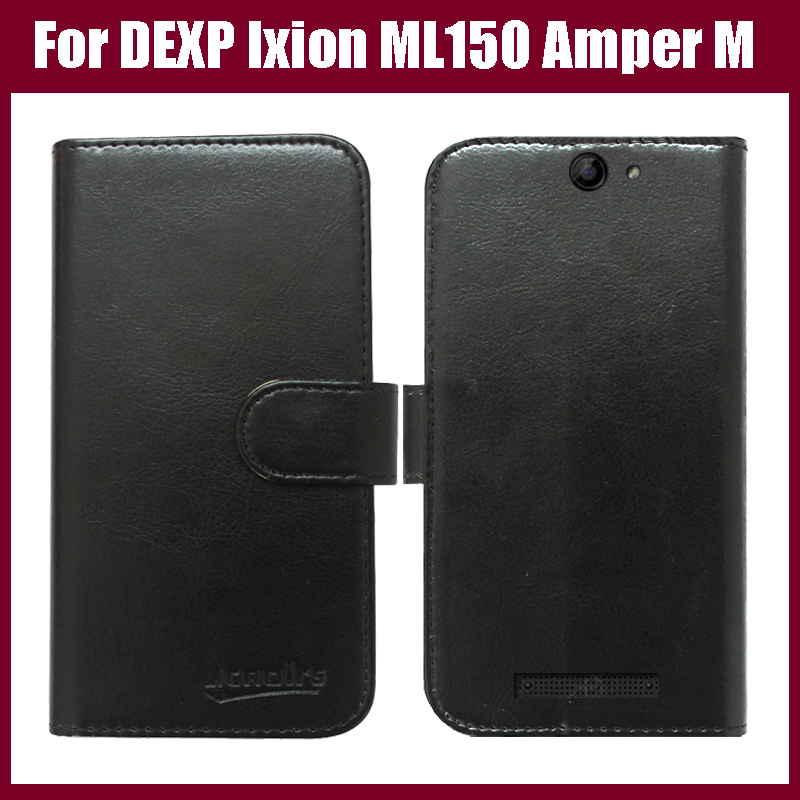 New Arrival 6 Colors High Quality Flip Leather Exclusive Protective Cover <font><b>Case</b></font> <font><b>For</b></font> <font><b>DEXP</b></font> <font><b>Ixion</b></font> <font><b>ML150</b></font> Amper M <font><b>Case</b></font> image