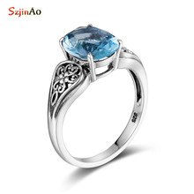 SzjinAo Antique Sapphire S925 (China)