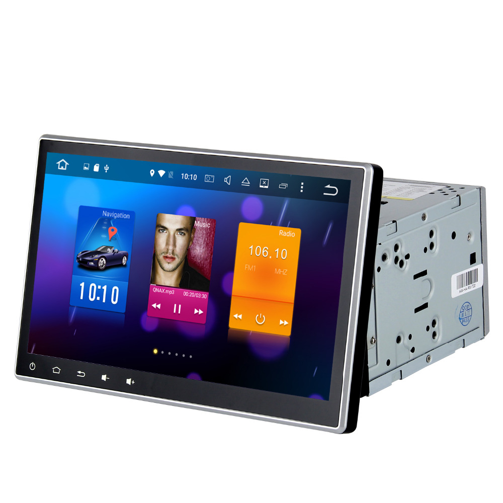 10.2 Android 6.0 GPS Player for 2 din Universal Car with Octa Core 2GB Ram Auto Radio Multimedia GPS NAVI 4G LTE Video