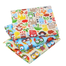 New Arrivals High Quality Cartoon Owl Patchwork Cotton Fabric Textiles Sewing For Bags Clothes Curtain Tissue 40X50 CM B2-3-4 high quality pump cb b2 5 4