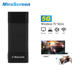10pcs HDMI TV Dongle Dual Band WiFi Display MiraScreen 2.4G/5G Wireless Support MiraCast Android iOS Mac Airplay EZCast TV Stick