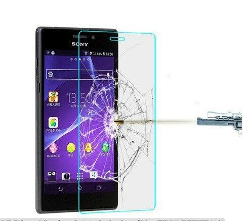 Из 2 предметов для Sony Xperia Z3 компактный Z3 мини M55W взрывозащищенные Анти Shatter Премиум закаленное Стекло Экран протектор гвардии пленка