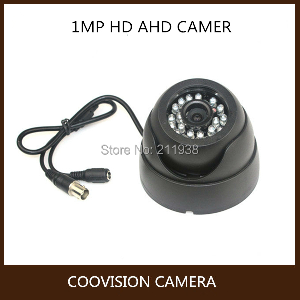 1.0megapixel 720P IR CCTV security AHD Camera HD Indoor Dome Camera night vision 4 in 1 ir high speed dome camera ahd tvi cvi cvbs 1080p output ir night vision 150m ptz dome camera with wiper