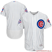 MLB Men s Chicago Cubs Baseball White Royal Home Wrigley 100 Years  Commemorative e9099f760