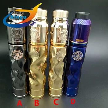NEWEST AV Twistgy MOD kit 18650 battery 24mm vaporizer Mechanical Mod e-cigarette kit with 510 thread drip atomizer vs rogue mod цена 2017