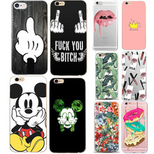 KALCAS Case For iphone 5s 5 s se Mickey Minnie For Apple iPhone 6s 6 s 7 8 plus x