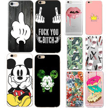Case For iphone 5s 5 s se Case Cover Mickey Minnie Silicone Soft Shell Cover For Apple iPhone 6s 6 s 7 8 plus x 10 Bags Funda(China)