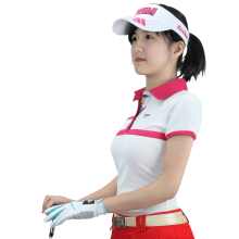 2016 New PGM Ladies Golf Clothing Polo Short Sleeved Shirt Summer Sport Jacket Golf Women Clothes Quick Dry Fit T-shirt