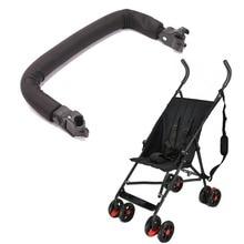 เด็กร่มรถเข็นเด็กอุปกรณ์เสริมแขน 1.6 ซม. หรือ 1.9 ซม. ปรับ Handrail กันชน fit chicco liteway goodbaby maclaren