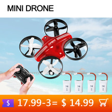 Mini Drone RC Quadcopter Remote control Helicopter 4CH 6 Axis Gyro 2.4 G Pocket Aircraft Headless Mode Dron for Kids Toys