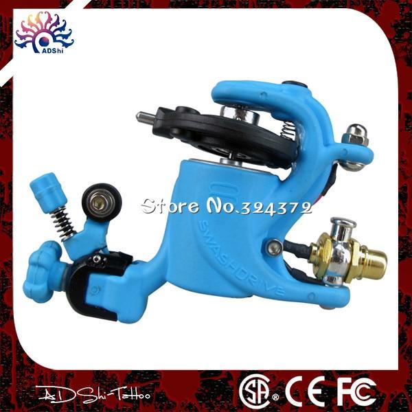 ФОТО Best motor factory best-selling cute New design blue rotary tattoo machine Body art tattoo gun