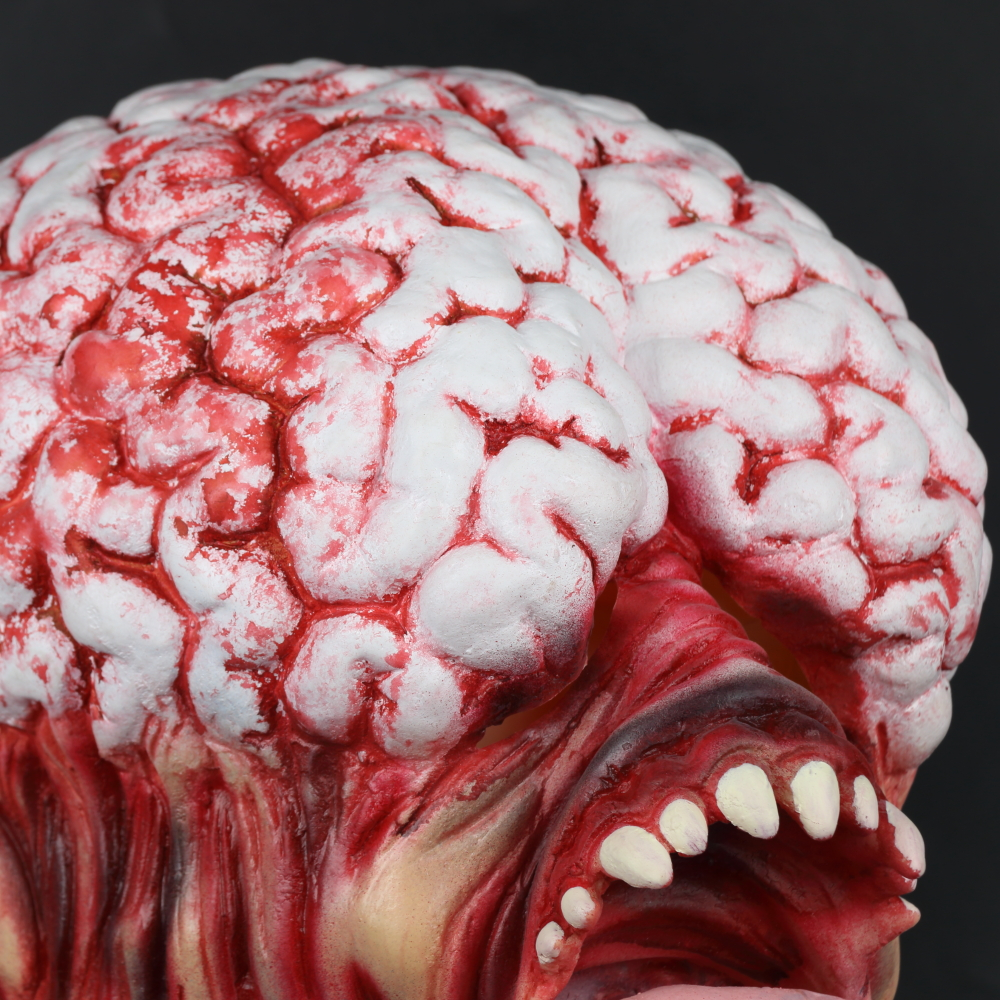 Resident Evil Rotten Horror Zombie Mask Long Tongue Haunted House Secret Room Scary Bloody Latex Eye Mask Cosplay Halloween (25)