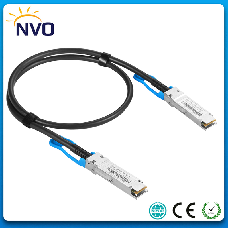 25G SFP28 to SFP28 1M (3ft) 30AWG DAC Passive Direct Copper Cables,25G SFP28 Passive Direct Attach Copper Twinax Cable