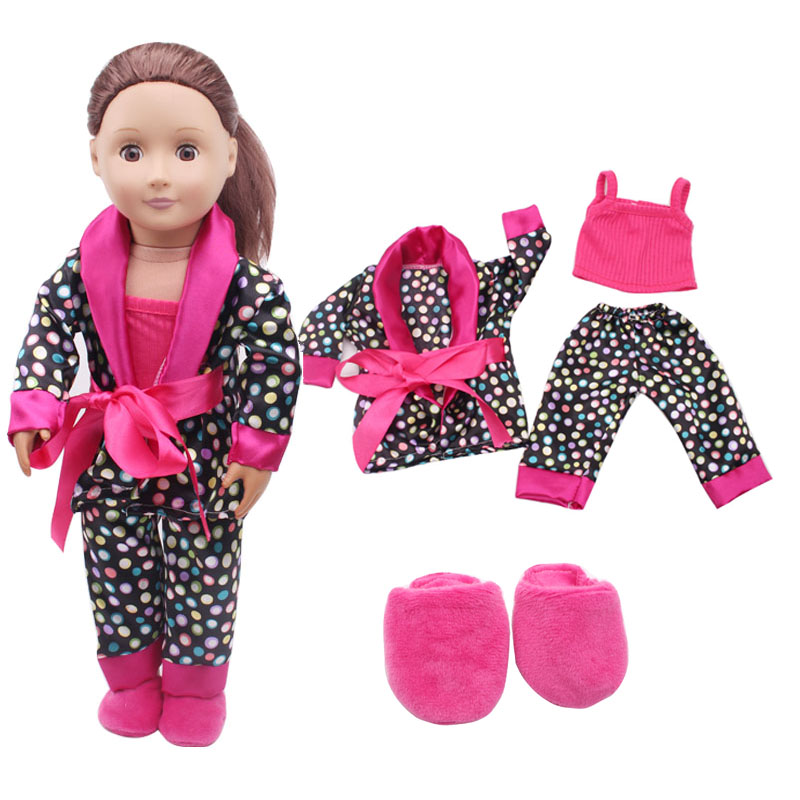 Handmade 18 inches of American girl dolls clothes accessories four-piece 18-inch American girl dolls suits c304 car model scene 1 18 car girl dolls out of print