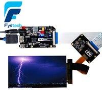 Peças da impressora 3d lcd 2560x1440 2 k ls055r1sx03 kit placa de acionamento luz cura display para photon 3d impressora vr projetor|for 3d printer|module diymodule display -
