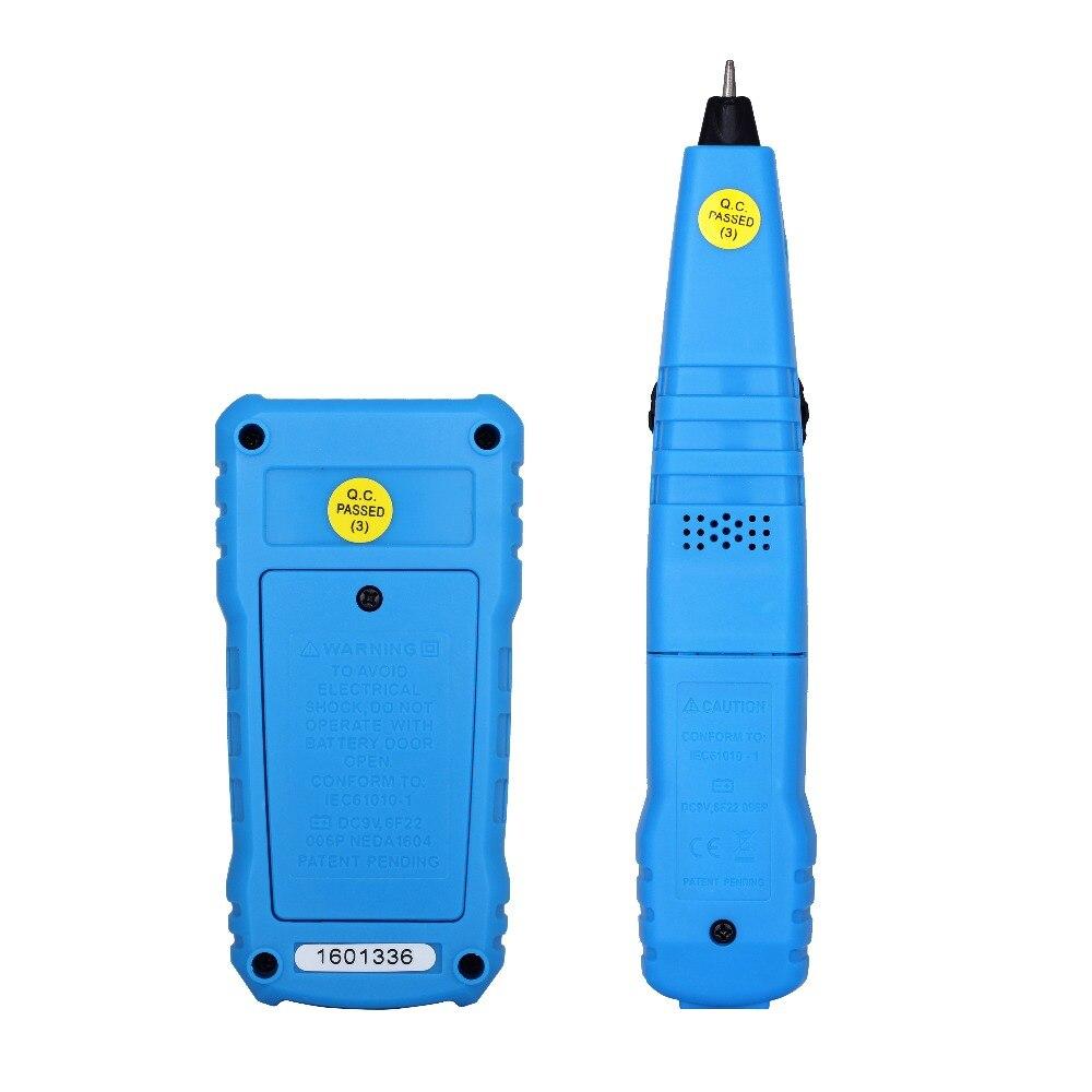 BSIDE FWT11 Network Cable Tester RJ11 RJ45 Telephone Wire Tracker Tracer Toner Ethernet LAN Line Finder (Pack of 10)