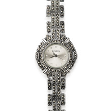 Simple 925 Sterling Silver font b Watch b font Women Classic Thail Silver font b Women