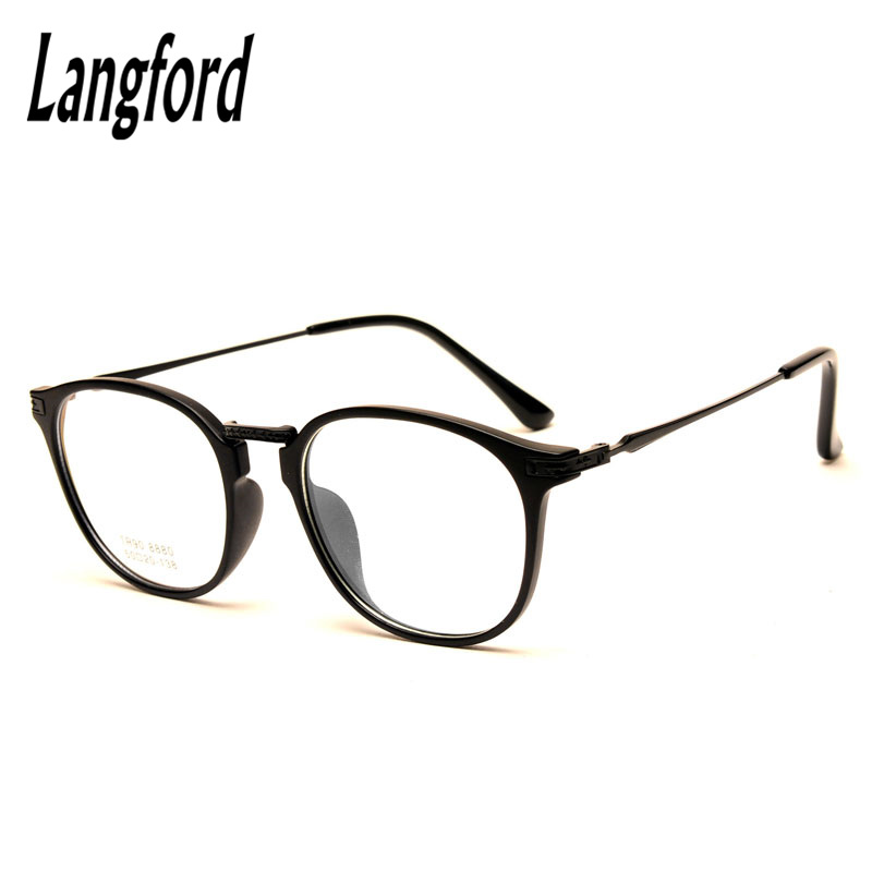 ⓪langford brand big round optical eyeglasses frame prescription ...