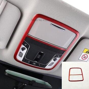 Für Honda Accord 10th 2018 2019 ABS Kunststoff Auto vorne lesen Lampenschirm panel Abdeckung Trim indoor car styling Zubehör 1 stücke