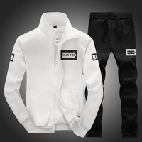 Hot Brand Spring And Autumn Men 2pcs Sport Suit Outdoor Sportswear Breathable Track Suit For Man