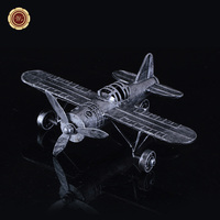 WR Rare Metal Airplane Model Military Fighter Office Decoration Creative Gift New