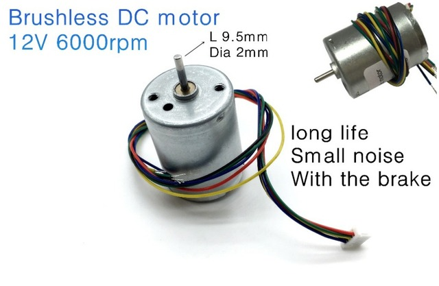 Dc motor with brake best brake 2018 for Etek r brushed dc electric motor