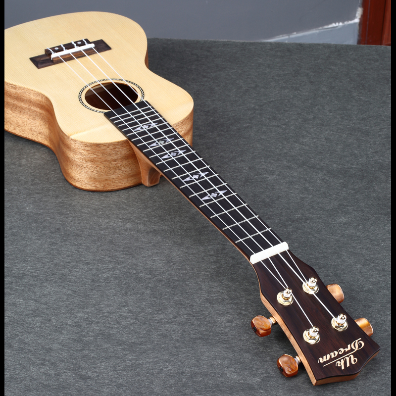 4 strings acoustic guitar 23 inch guitarra ukulele folk beginners musical instrument guitars. Black Bedroom Furniture Sets. Home Design Ideas