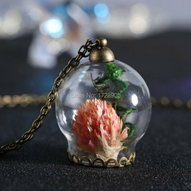 bottle love valentine potion necklace original pendant vial glass products charm