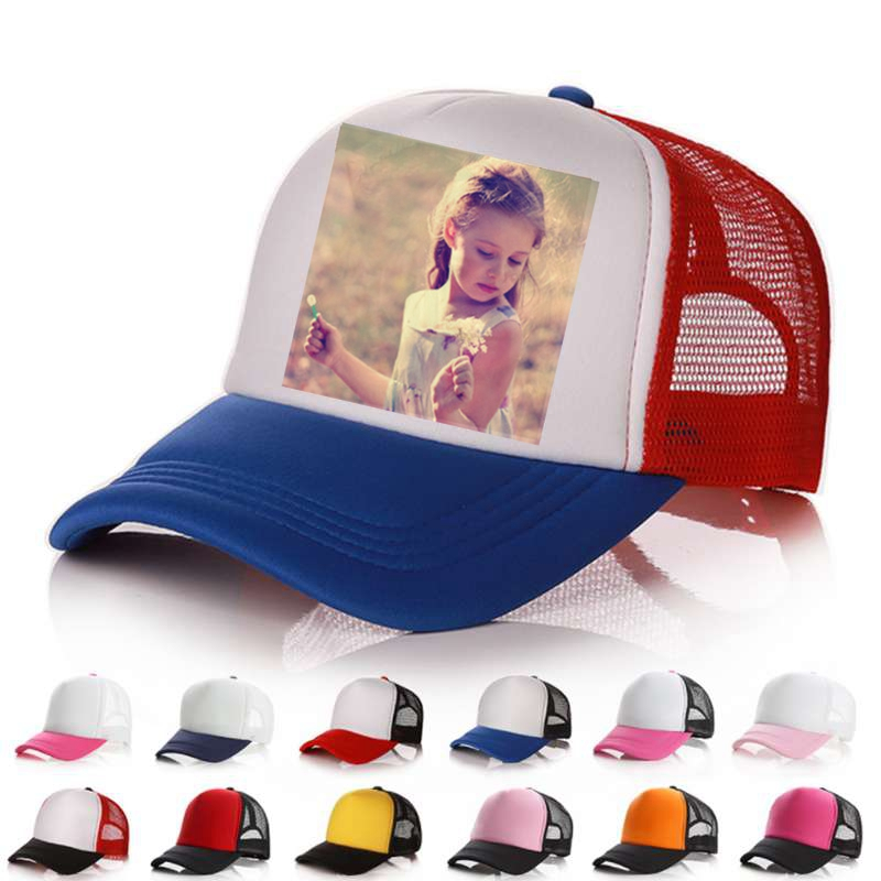 WZCX 2019 Fashion New Custom Logo Image Photo   Baseball     Cap   Unisex Adjustable Breathable Family Portrait Summer Hat