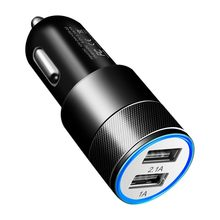 Dual USB SUV Car Charger For Samsung Galaxy J6 Plus J4 J7 J3 J5 M20 M10 A70 A50 A40 A30 A20 A9 A7 A6 A4 Adapter Charger Cargador(China)