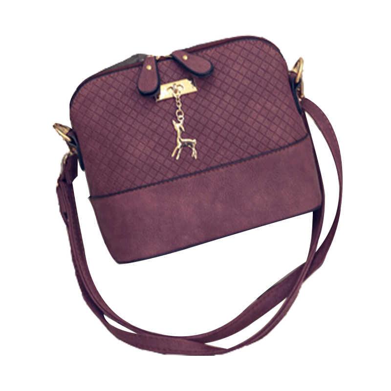 2019 новая мини-сумка с оленем женские сумки через плечо женские сумки-мессенджеры игрушка в виде ракушки сумка
