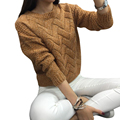 Sweaters Women Casual Long-Sleeved Knit Sweater Christmas Pull Femme Female Loose Pullovers  LJ7291M