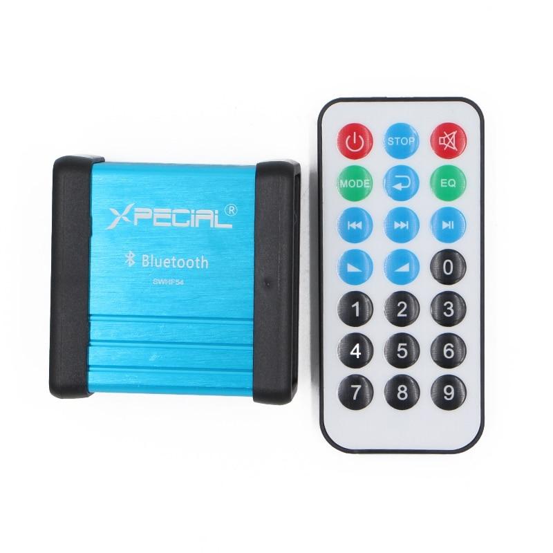 Funkadapter Heißer-drahtlose Bluetooth Audioempfänger Dekodierung Box Vorverstärker Verstärker Mit Leistungstrenntransformator Prozess Und Fernbedienung Ein Kunststoffkoffer Ist FüR Die Sichere Lagerung Kompartimentiert