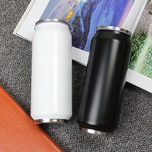 Neue Design Edelstahl Flasche Thermo Isolierflasche Thermische Thermos Stroh Tasse Becher Flasche Tragbaren Thermos Tassen Liebhaber Geschenk