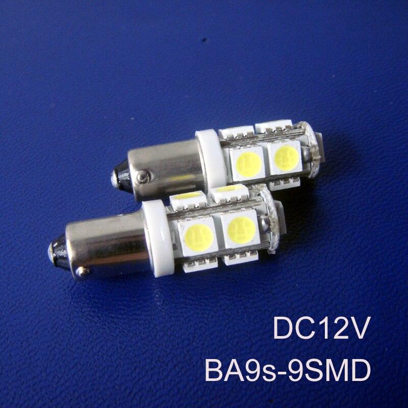 Hot sale Car 12V BA9s Led Light Lamp Bulb,BA9s Led Signal Light,Led Indicator Light,Auto Led Pilot Lamp free shipping 2pcs/lot
