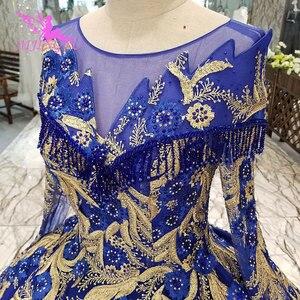 Image 5 - AIJINGYU אופנה חתונה שמלות יפה שמלות כדור סין מערבי כלה שמלות את שמלת חתונת שמלה עם Sheer חזרה