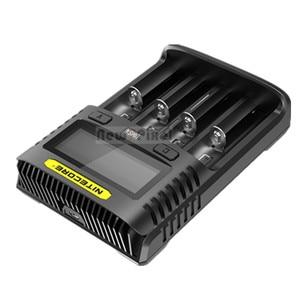 Image 4 - Oryginalny NITECORE UMS2 UMS4 inteligentna ładowarka baterii wyjście USB 3A dla LiFePO4 litowo jonowych Ni MH NiCd 10440 10440 10500 18650