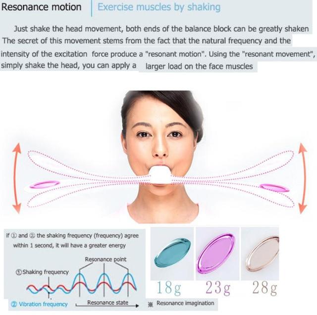 Natural face lift facial muscle